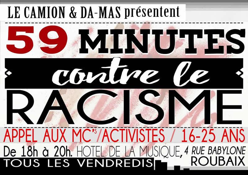 59 minutes contre le racisme