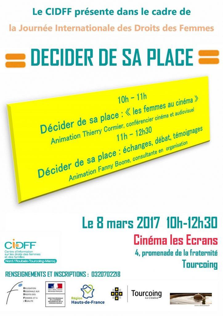 journée droit des femmes 8 mars 2017