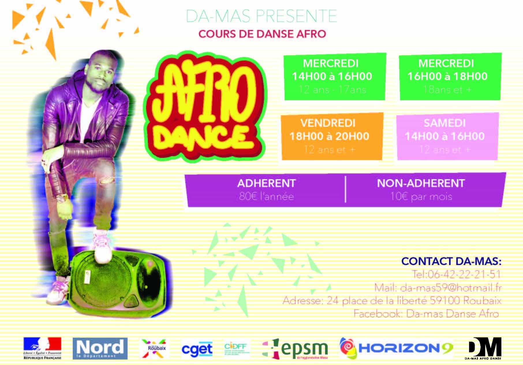 Afro dance Da-mas