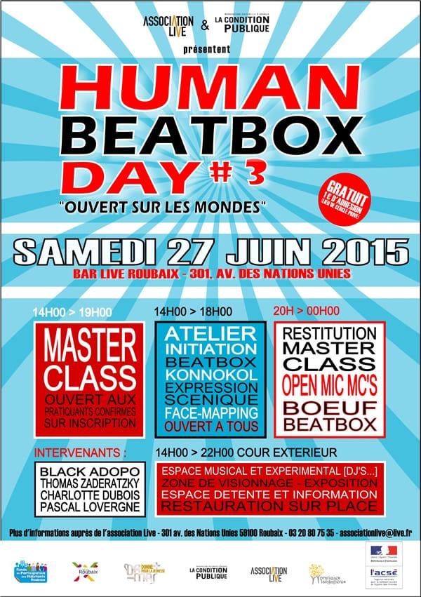 Human Beatbox Day 3