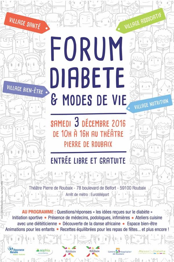 Affiche Diabete