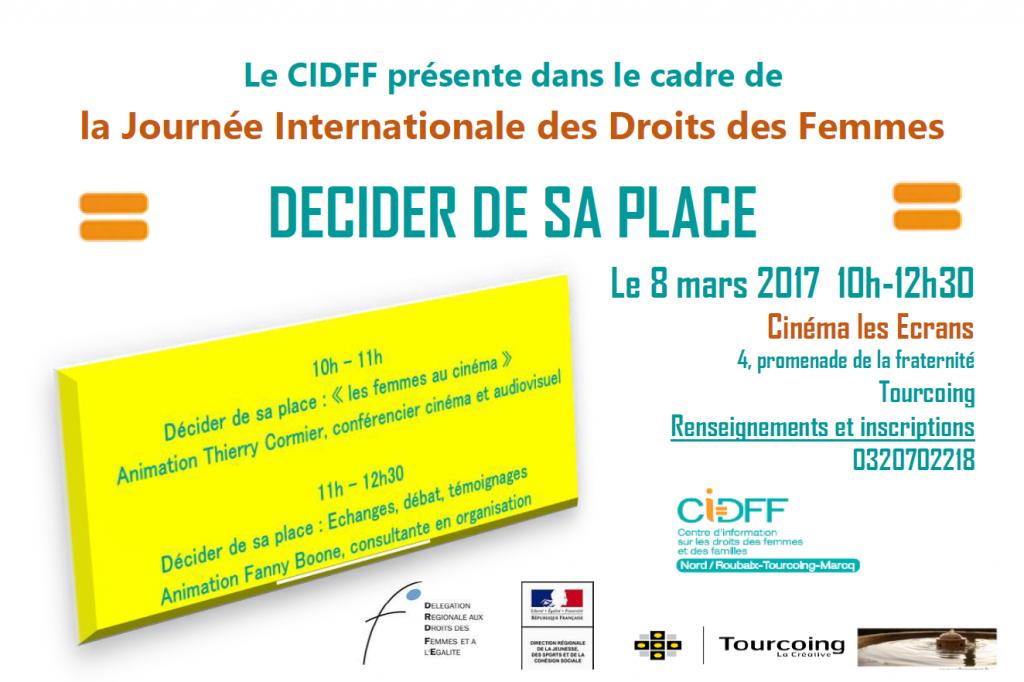 LA JOURNÉE INTERNATIONALE DES FEMMES 08/03/2017