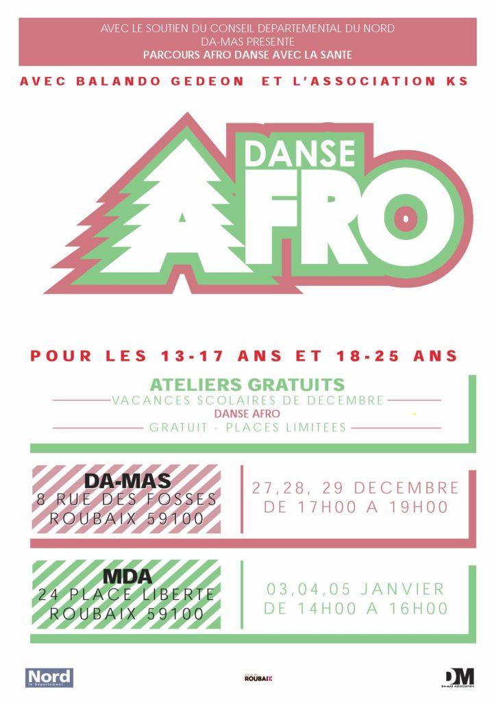 Parcours Afro danse : favoriser une alimentation saine et équilibrée et une activité physique adaptée