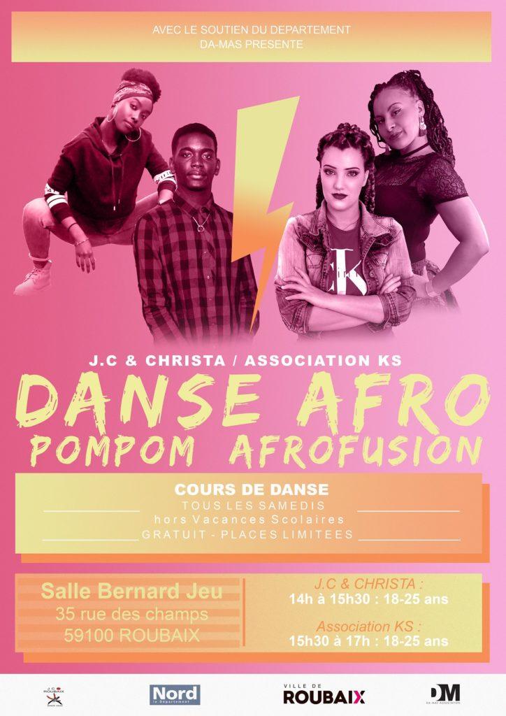cours danse afro samedi
