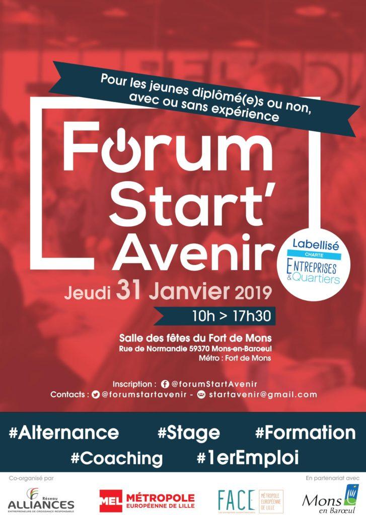 Affiche Start'Avenir