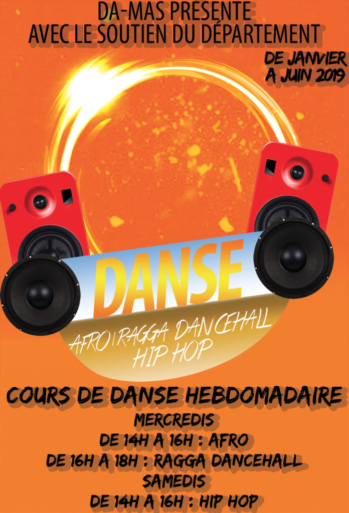 Cours de danse Afro - Ragga Dancehall et Hip hop - 2019