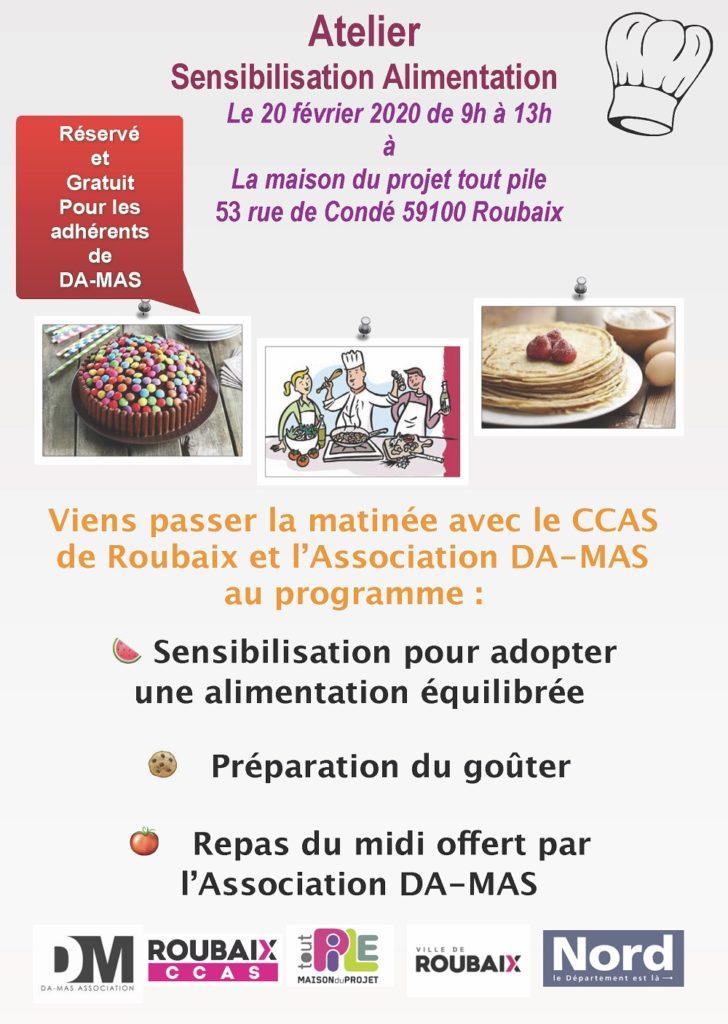 Atelier Sensibilisation Alimentation