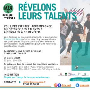 Projet RtR | Invitation > révélons leurs talents