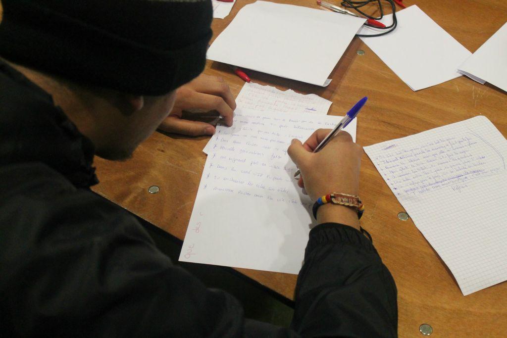 20-01-2016  Atelier Ecriture Hem