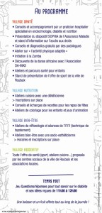 flyer forum diabete 2016 Page 2