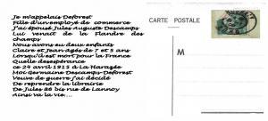 CHAPELLE POTENNERIE MEMOIRE DE JULES AUGUSTE DESCAMPS Page 2