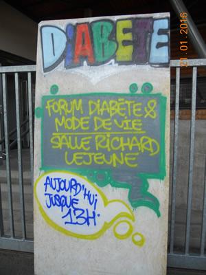 ATELIER GRAFF / DIABÈTE 21 JANVIER 2016